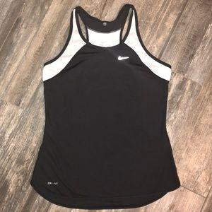 Nike Women's Dri-fit Racerback Tank Top Size Small